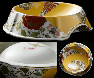 $2400 One Of A Kind Pet Bowls by Peter Ting