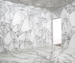 3-D Drawings Pulsates Message
