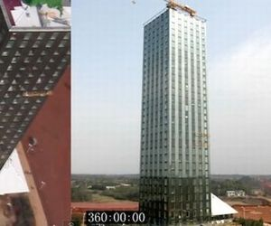 30 Story Hotel Built In 15 Days In China