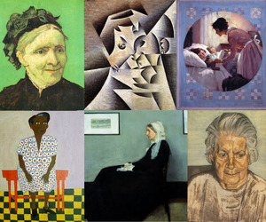 "33 Portraits of ""Mom"" By Famous Artists"