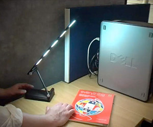 3.5 Watts Prototype OLED Desk Lamp from Project TOPLESS
