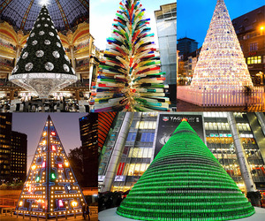 5 Spectacular & Unusual Christmas Trees