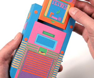 80′s Electronics Recreated Out of Paper | Zim and Zou