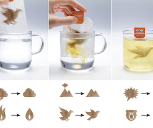 A Clever Way To Market Calm. BOH Camomile Tea Bags. 