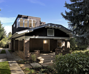 A Craftsman made contemporary