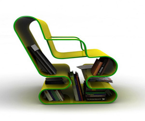 A-curved-lounge-chair-with-built-in-book-storage-m