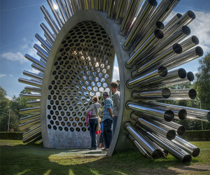A Giant Aeolian Harp By Luke Jerram