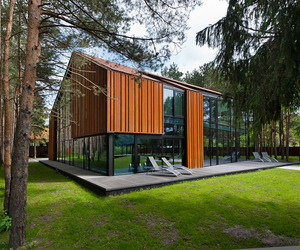 A House in the Woods of Kaunas | Studija Archispektras