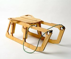 A Plywood Sled by Konstantin Achkov