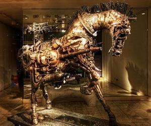 A-steampunk-horse-m