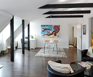 A Charming and Stylish Loft in Sweden