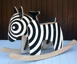 Aesthetically Designed Rocking Zebra By Newmakers