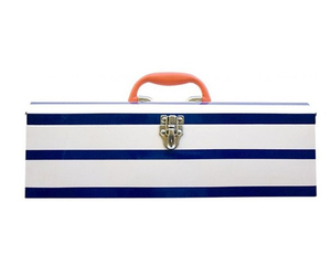 Alice Supply Co. Metal Toolbox - Nautical