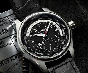 Alpina Worldtimer Wrist Watch