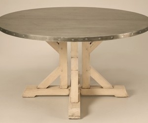 Amazing-french-55-inch-round-zinc-topped-dining-table-m