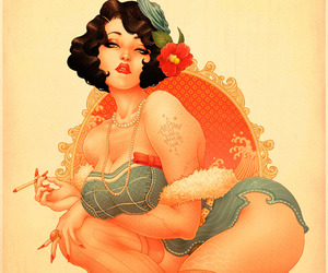 Amazing Pinup Illustrations by ONEQ.