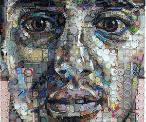 Amazing Portraits Made With Junk