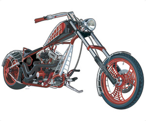 American-chopper-mural-york-wallcovering-m