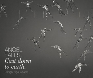 Angel Falls Chandelier by Nigel Coates