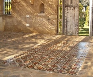 Antique-encaustic-and-terracotta-flooring-m