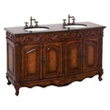 Antique-wood-bathroom-vanity-s
