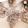 Art-student-creates-necklaces-from-human-hair-s