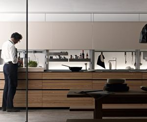Artematica Olmo Tattile Kitchen by Valcucine