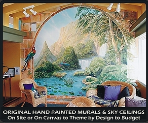 ARTFORMS INC  Hand Painted Murals - On Site or On Canvas