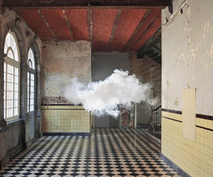 Artist Creates Real Clouds Inside 
