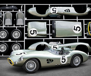 Aston Martin DBR1 | Life-size Model Kit