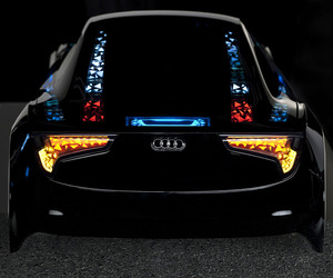 AUDI New Lighting Technologies Shown at CES 2013