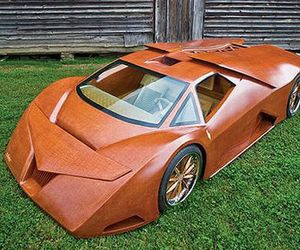 Supercar Out of Wood Composites