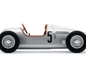 Auto-union-12-scale-pedal-car-m