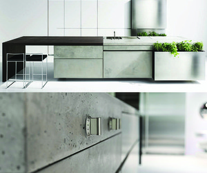 Award-Winning Concrete Kitchen