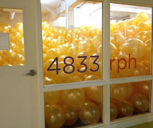 Balloon Installation by Martin Creed
