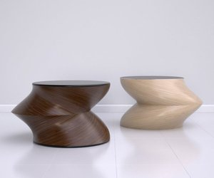 Bamboo Twist Tables by Jason Phillips