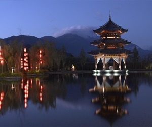 Banyan Tree Lijiang Resort in Lijiang, China