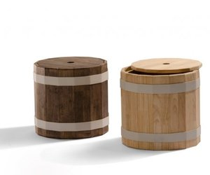 BARREL tables 1,2 and 3 by Studio Teun Fleskens