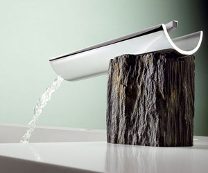 Bath-faucets-combine-modern-design-with-rustic-materials-m