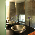 Bathroom-metal-vessel-sink-glass-room-divider-by-bill-fry-s