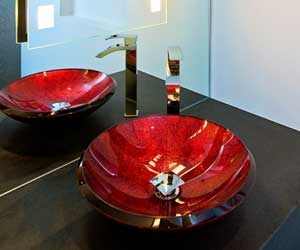 Bathroom-powder-room-with-red-glass-sink-m