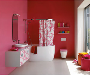 Bathrooms: pretty in pink, again