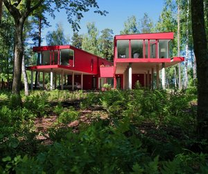 Beautiful-two-sisters-red-house-by-nrja-m