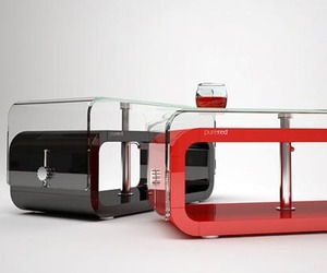 Beautiful-unique-periodic-red-table-design-with-a-glass-top-m