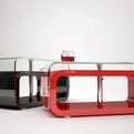 Beautiful-unique-periodic-red-table-design-with-a-glass-top-s
