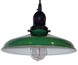 Benjamin Industrial Pendant Light by Barn Light Electric