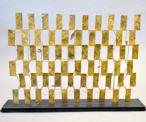Bertoia-sculptural-screen-maquette-at-aadla-spring-show-nyc-m