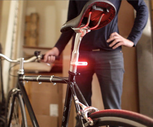 Bike Lights by Blink/Steady, One Less Thing to Worry About