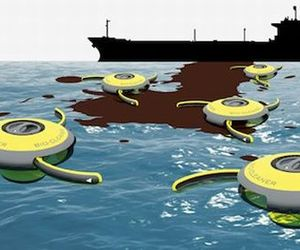 Bio-Cleaner Drone To Clean Oil Spills