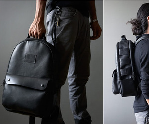 Black-leather-utility-backpack-by-killspencer-m